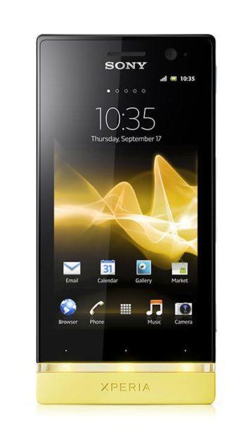 Sony Xperia U Displayreparatur