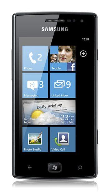 Samsung Omnia W Reparatur
